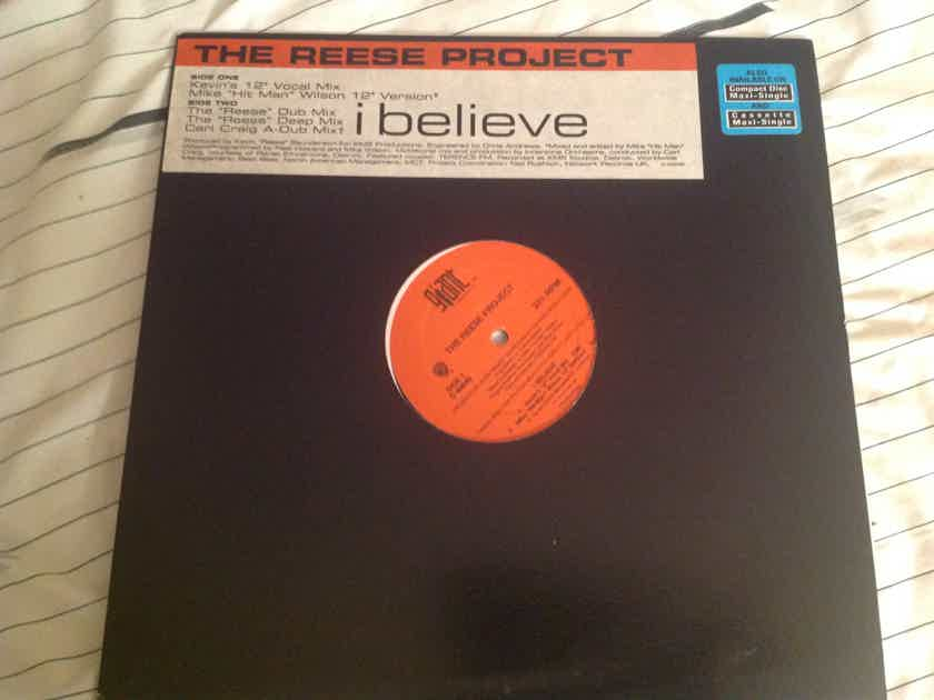 The Reese Project  I Believe Giant Records 12 Inch EP