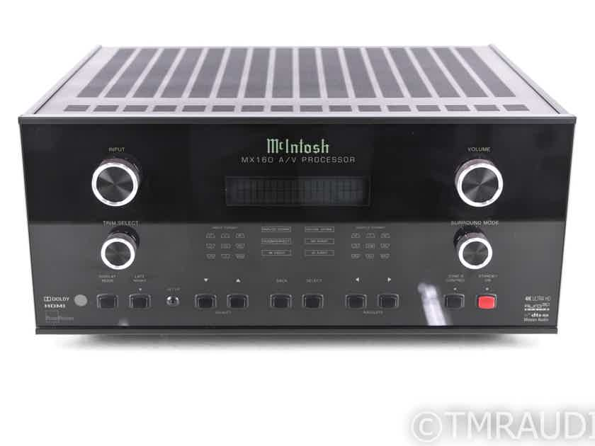 McIntosh MX160 11.1 Channel Home Theater Processor; 4K UHD; Dolby Atmos; Auro 3D (20624)