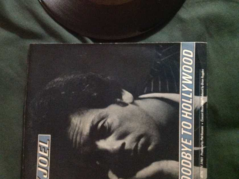 Billy Joel - Say Goodbye To Hollywood Family Productions Columbia Records 45 With Picture Sleeve