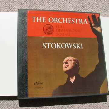 The Orchestra Stokowski  1 lp record box set with booklet