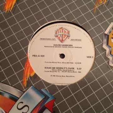 David Sanborn Voyeur Promo 3 Track 12 Inch NM