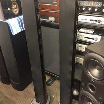Model 300 Gloss Black Floor Standing Speakers