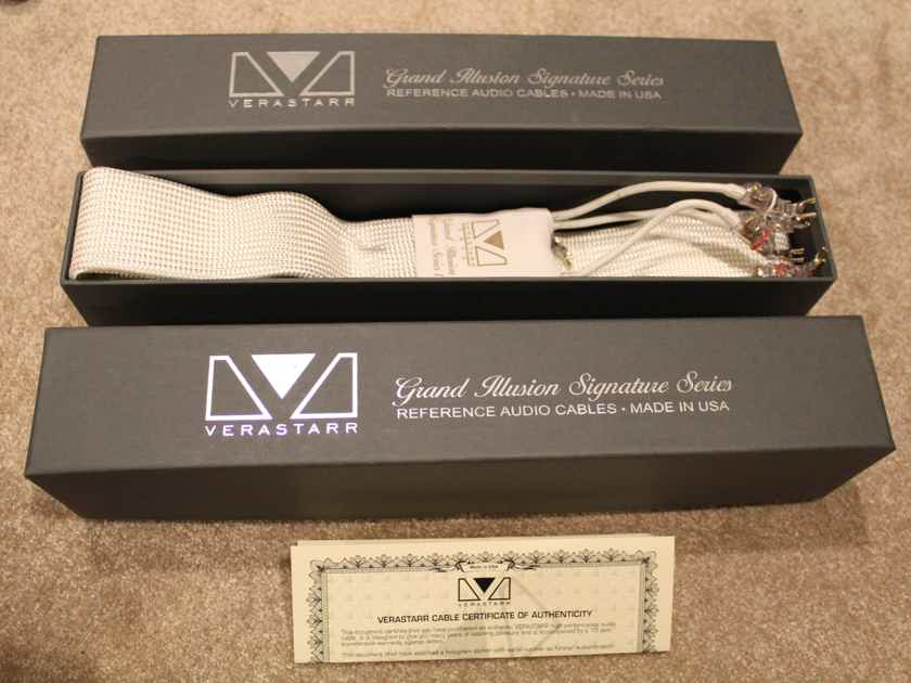 Verastarr Grand Illusion Signature Series 2 Ribbon Speaker Cable. GREAT!