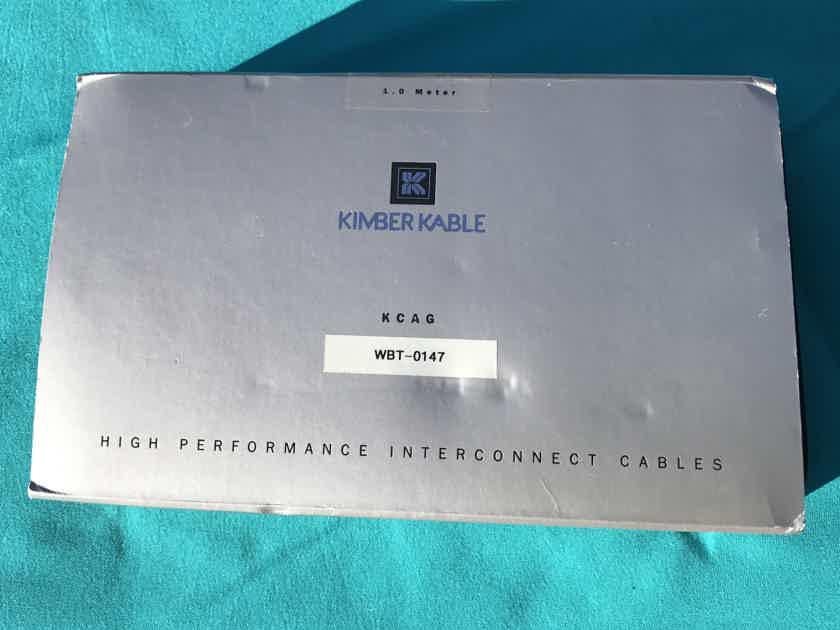 Kimber Kable 1m w/WBT-0147