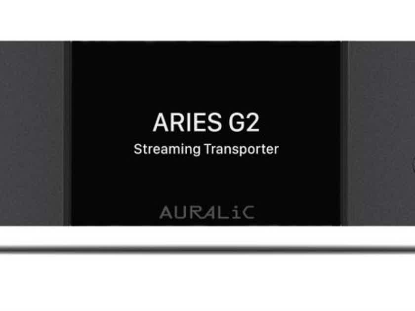 Auralic Aries G2 World Class server including 2TB internal storage