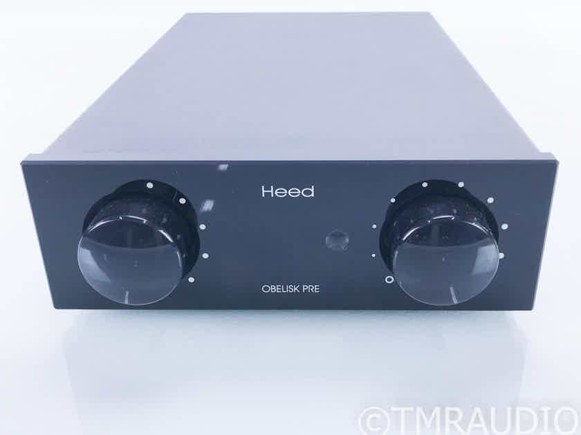Heed Obelisk Pre Stereo Preamplifier / DAC; PX Power Supply; Upgraded (16959)