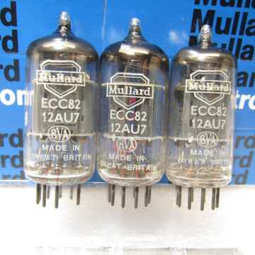 Mullard (3pieces ECC82/ 12AU7/ CV4003