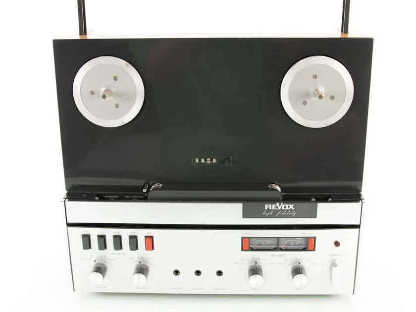 Revox A77 Vintage Reel to Reel Tape Recorder; Upgrade Kits; Adapters (18858)