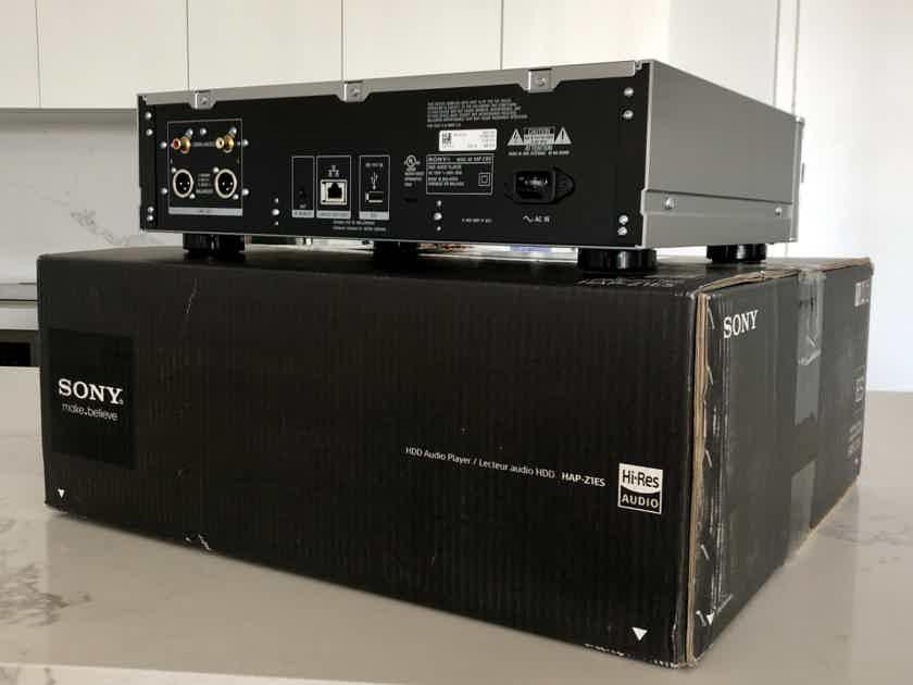 Sony HAP-Z1ES Hi-Res Network Player