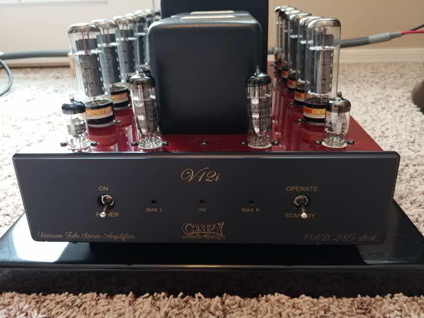 Cary Audio V12i  UL/Triode Tube Amp