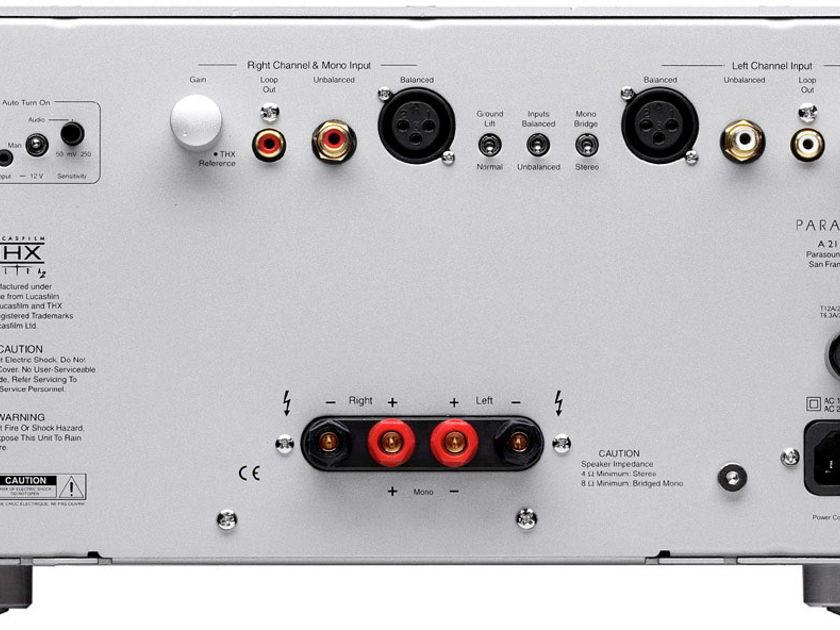 Parasound A-21 Class A/AB Amp