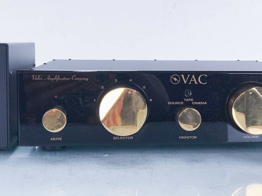 VAC Renaissance Stereo Tube Preamplifier Upgraded; Remote (15470)
