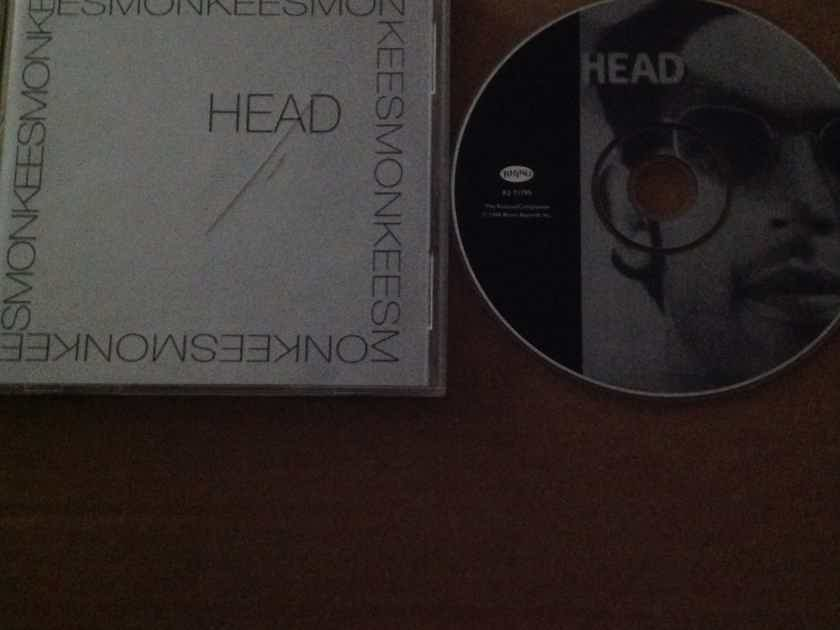 The Monkees - Head Rhino Records Compact Disc With Bonus Tracks