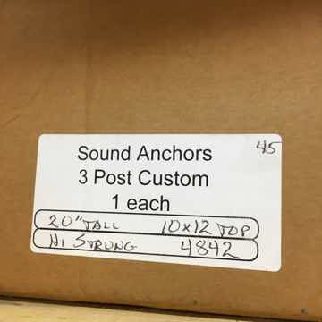 Sound Anchors 3 Post Speaker Stands