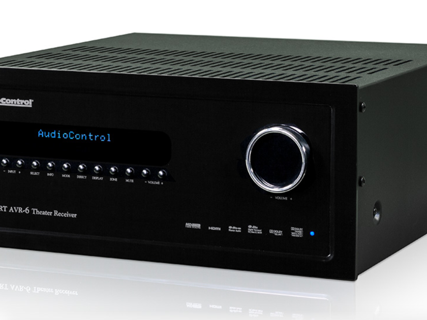 AudioControl Concert AVR-6 7.1 Channel Receiver (New)  (12358)