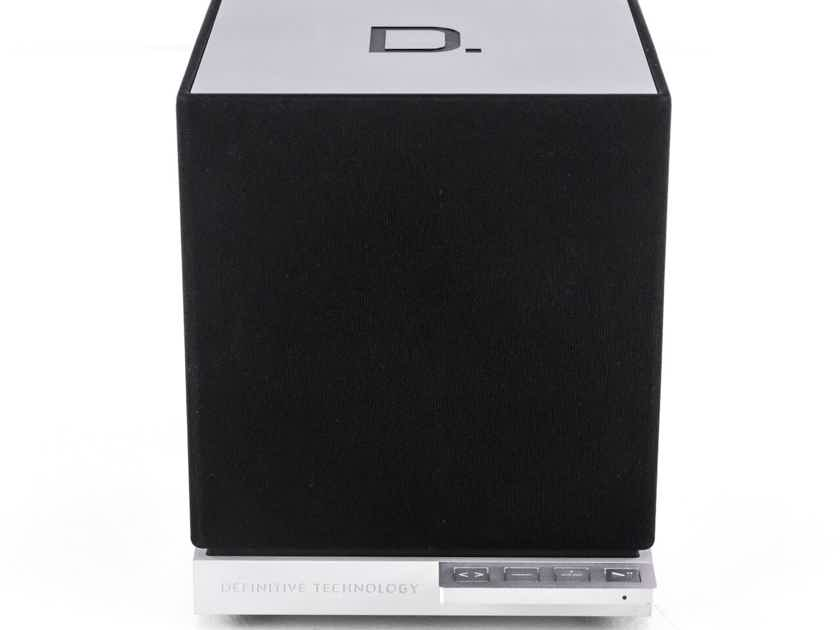 Definitive Technology W7 Wireless Network Speaker; Black & Silver (Refurbished) (20412)