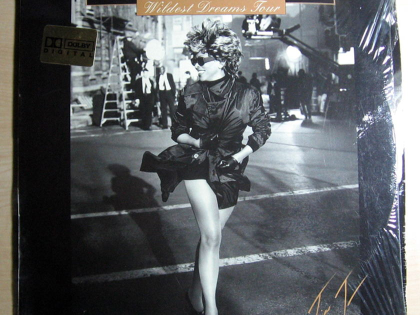 "Tina Turner - Live In Amsterdam - Wildest Dreams Tour  Laserdisc, 12"", NTSC, Multichannel Eagle Rock Entertainment"
