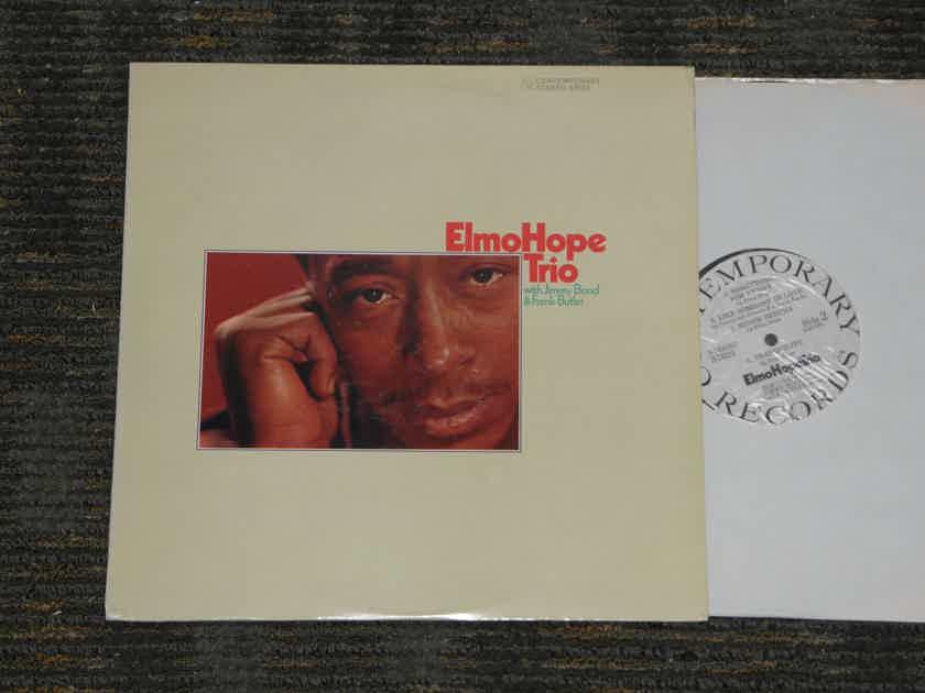 """Elmo Hope Trio """"Elmo Hope Trio"""" - w/Jimmy Bond & Frank Butler Contemporary Stereo WL Promo S76203527"""