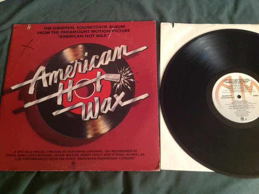 Various  American Hot Wax Soundtrack Stereo & Mono LP A & M Records