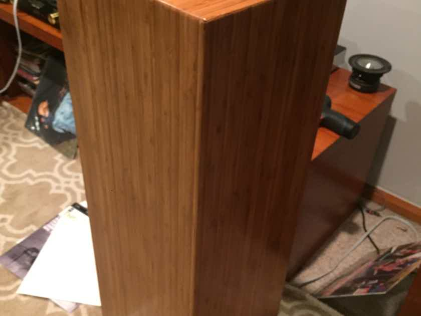 Bache Audio Metro-001 Bamboo cabinets .Very musical and warm sound