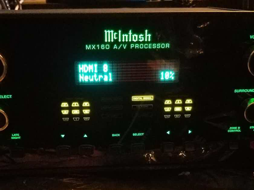 Sale pending McIntosh MX160 16 Ch HT Processor with Room Perfect*Mint*