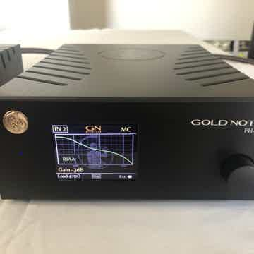 Gold Note PH10 Phono preamp and PSU-10 power supply uni...