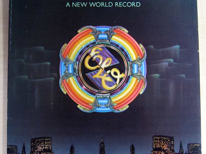 Electric Light Orchestra - A New World Record - United Artists Records, Jet Records UA-LA679-G