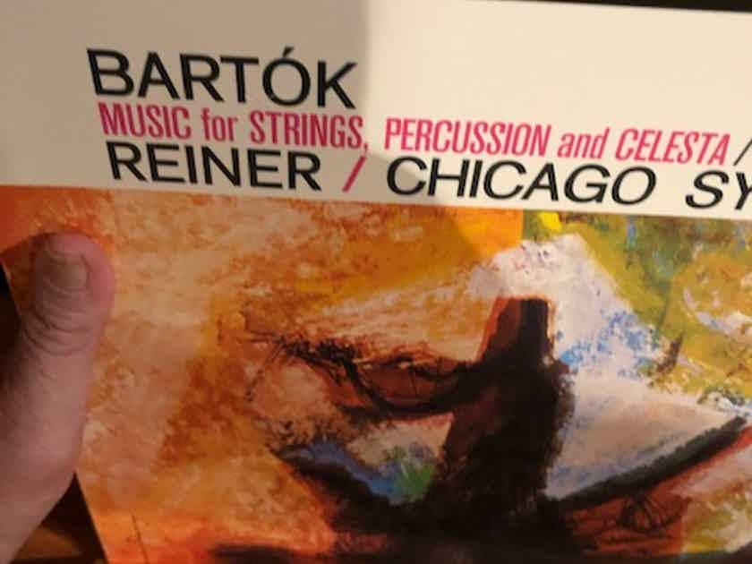 Reiner, Chicago Symphony Bartok Strings Percussion Celesta Reiner Classic 180 Gram 45 RPM 4 LP
