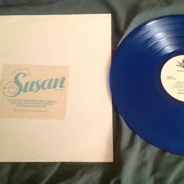 Susan  Falling In Love Again Promo Turquoise Vinyl
