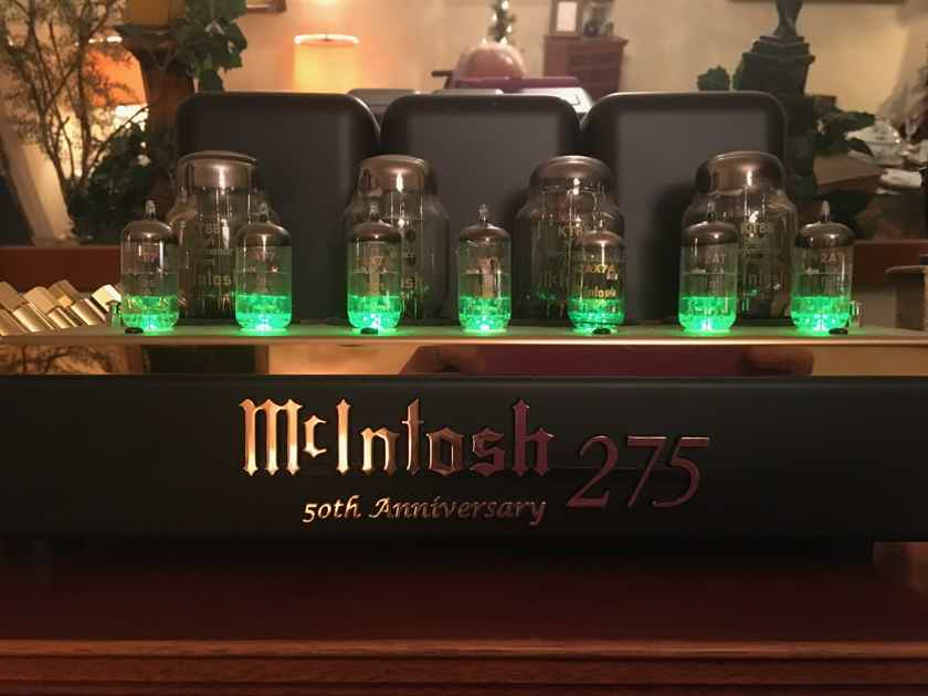 McIntosh MC275LE Limited Edition Gold Anniversary Model - MINT