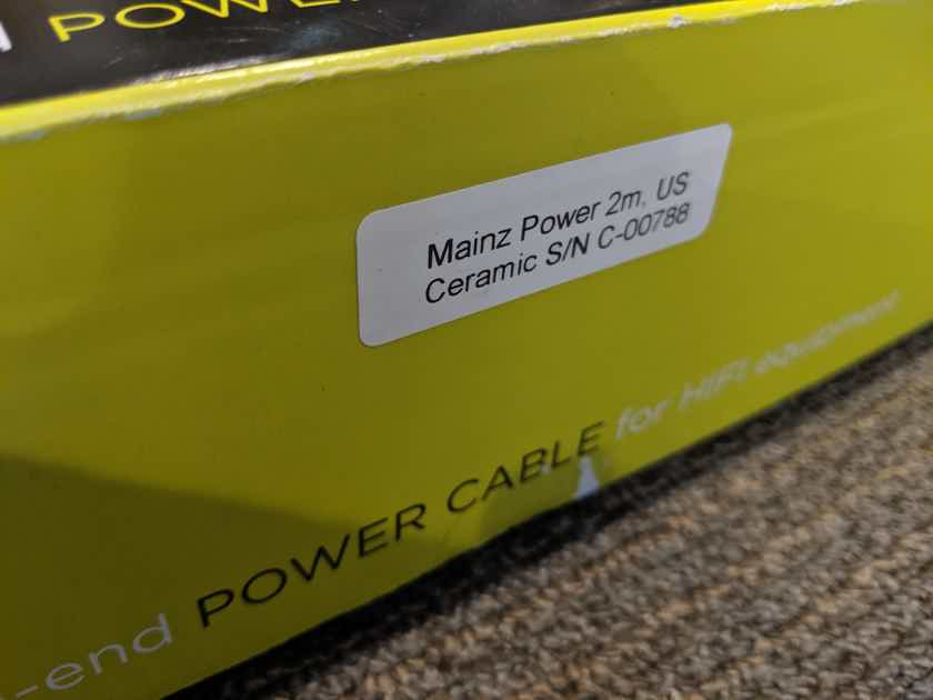 Ansuz Acoustics Mainz Ceramic Power Cable (2M, 15A)
