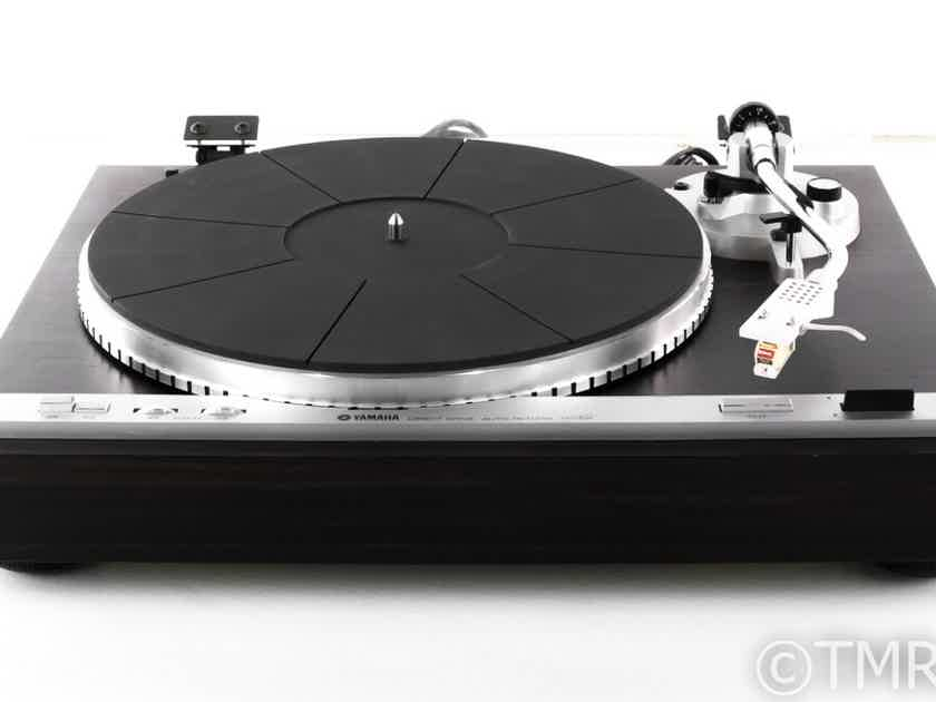 """Yamaha YP-D4 Turntable; 8.5"""" Tonearm; Sonus Red/Gold Stylus; AS-IS (Motor Speed) (22650)"""