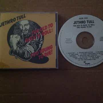 Jethro Tull - Too Old To Rock 'N' Roll Too Young To Die...