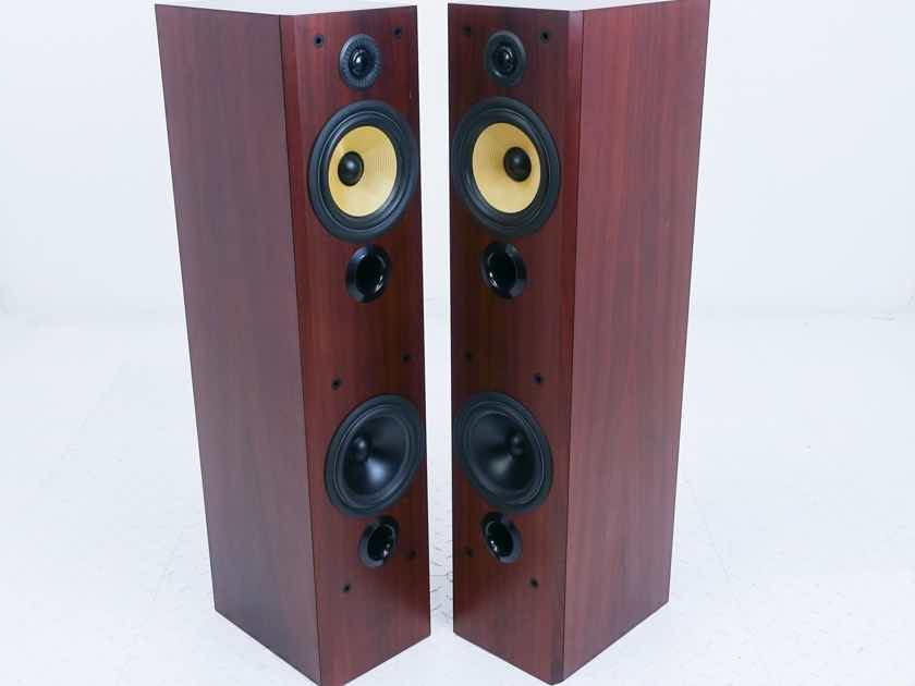 B&W P5 Floorstanding Speakers P-5; Rosewood Pair (16694)