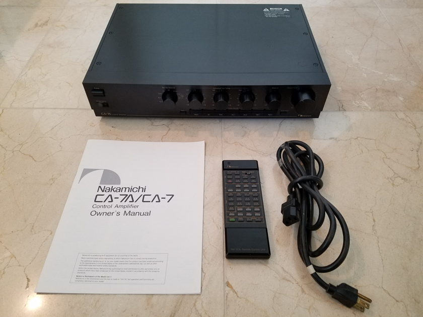 Nakamichi Package -  CA-7, ST-7, OMS-7A II, PA-7, PA-5