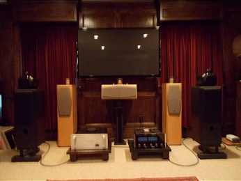 The poloman audio/video system.