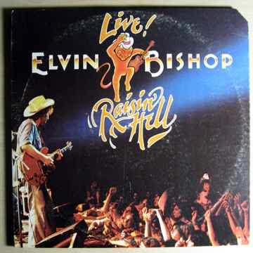 Elvin Bishop - Raisin' Hell - 1977 STERLING Mastered Ca...
