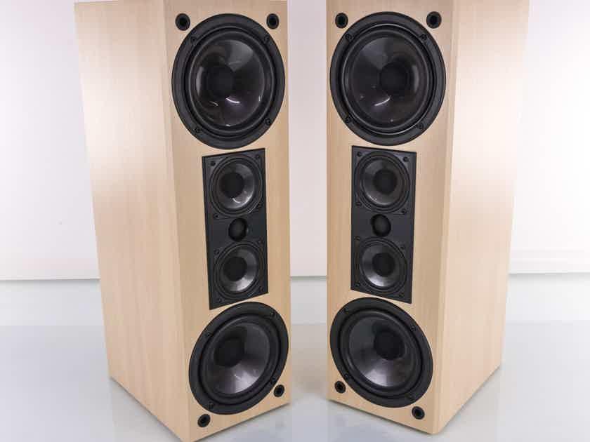 Atlantic Technology Model 371 LR Bookshelf Speakers; Pine Pair (20363)