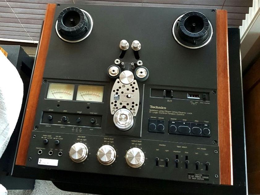 Technics RS-1500 2-track, 15ips Reel-to-reel deck