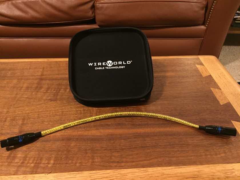 Wireworld Gold Starlight 5 XLR  0.5m AES/EBU Digital Cable - REDUCED