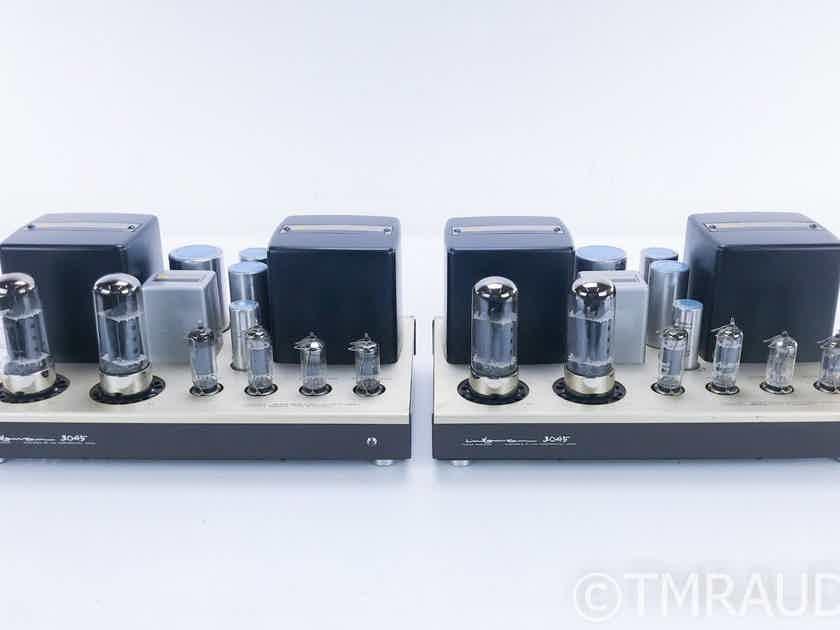 Luxman MB-3045 Mono Tube Power Amplifier Vintage Pair; 8045G Tubes (16657)