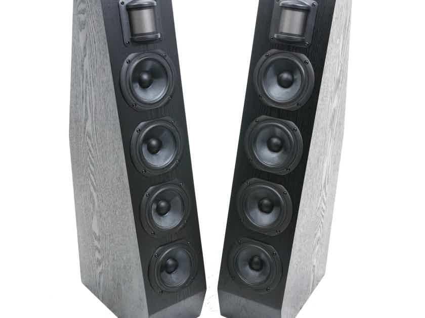 Anthony Gallo Acoustics Nucleus Classico Series IV Floorstanding Speakers; Black Ash Pair; CL-4 (19687)