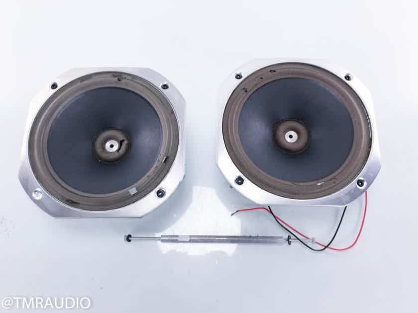 "KEF B250 10"" Woofer Driver; SP1215 Bass Unit Pair; AS-IS (Need new surrounds) (14521)"