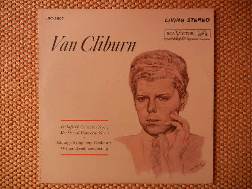 Prokofieff-MacDowell - Van Cliburn-Concert No.3 & No. 2 RCA Living Stereo LSC-2507 Shaded Dog 1958