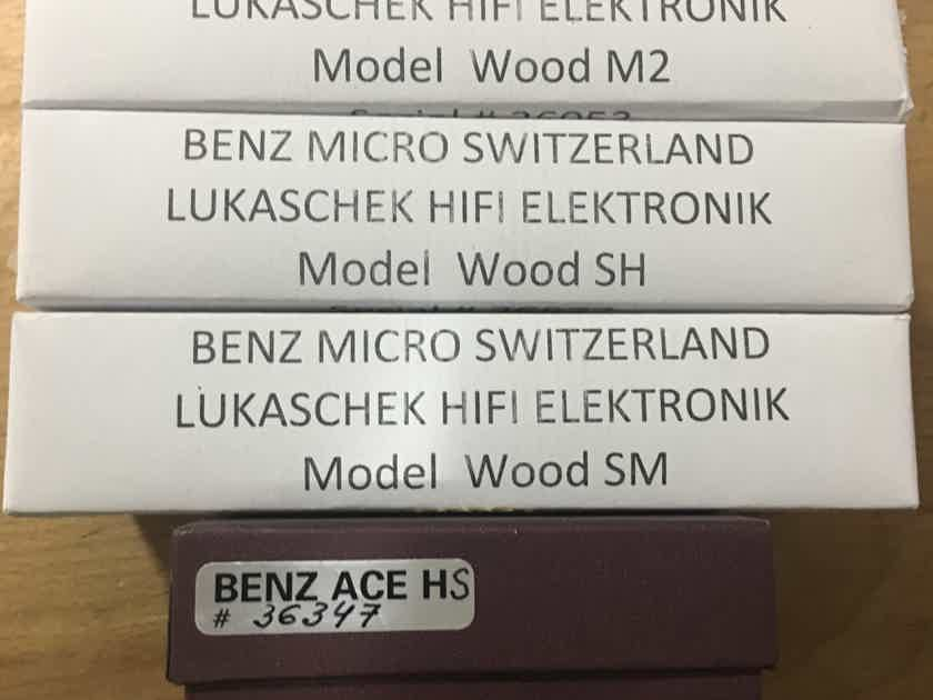 Benz Micro Wood M2 MC Cartridge With Warranty 45% Off Insured Shipping and Paypal Included