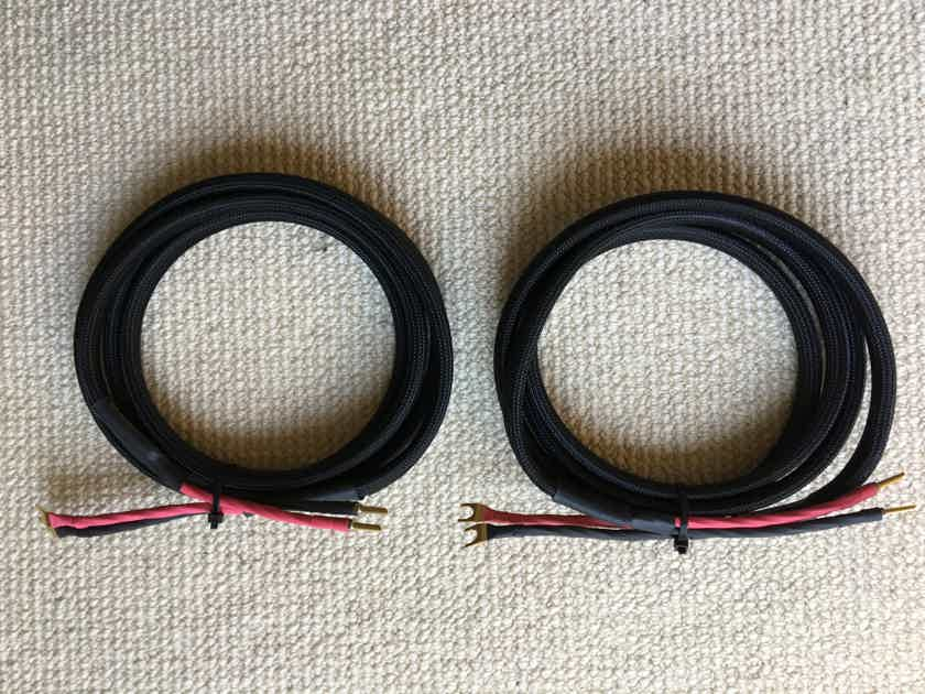 Signal Cable Analog Two Speaker Cables (9 Foot Pair)