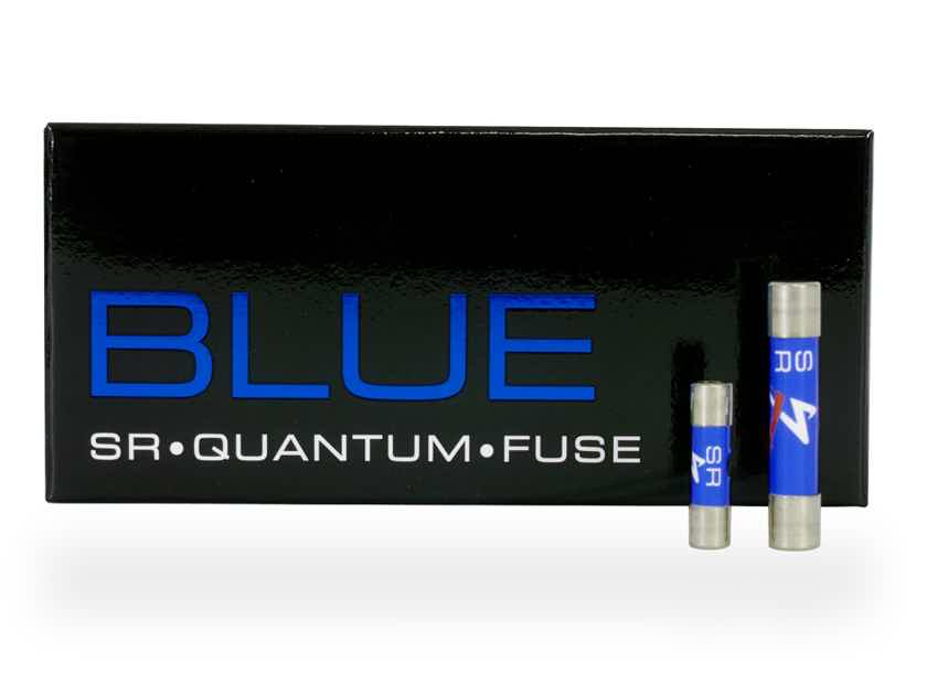 Synergistic Research BLUE Quantum Fuse - BRAND NEW - Blue is the new Black! BEST FUSE EVER!