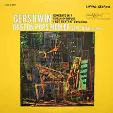 Fedlier and Wild Gershwin Concerto Classic 180 Gram Aud...