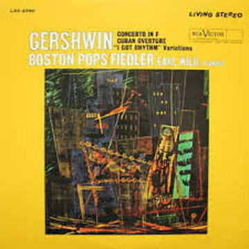 Fedlier and Wild Gershwin Concerto Classic 180 Gram