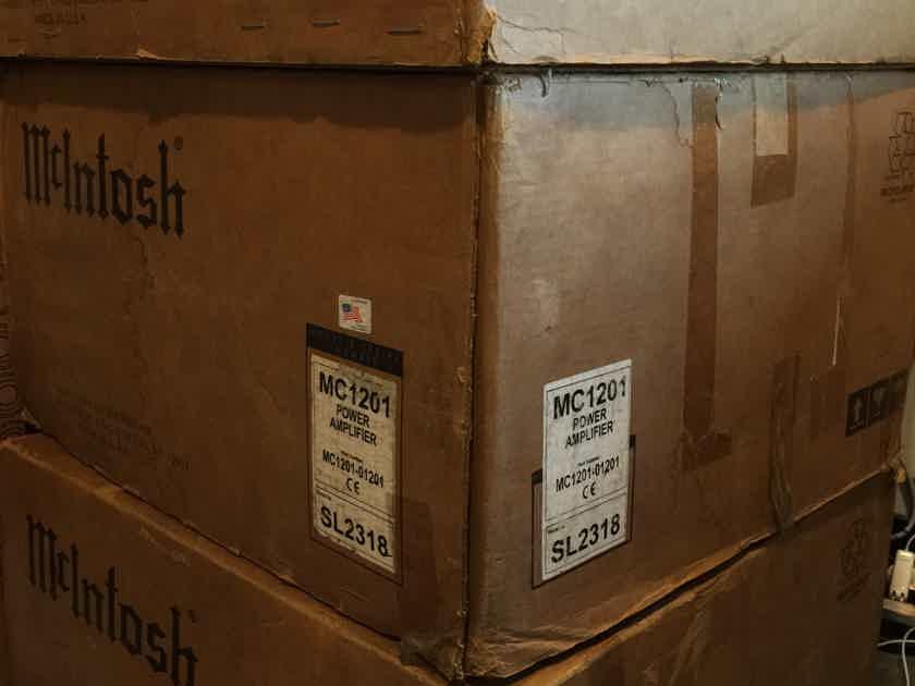 McIntosh MC1201 Pair MC1201 Mono Amplifier 1 owner from Modia Houston tx